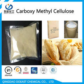 Cream White CMC Food Grade Cellulose Powder 9004-32-4 With Odorless Smell