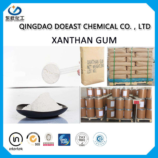 Cream White Powder Xanthan Gum Food Additive With Halal Certificated