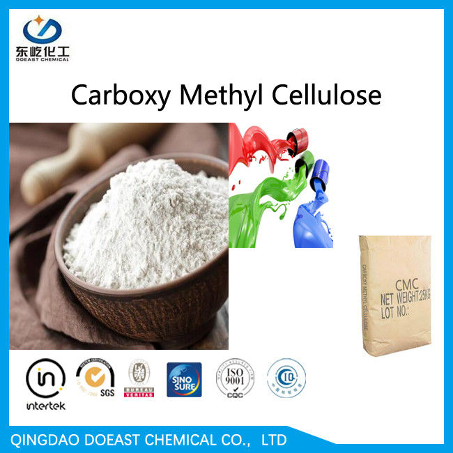 CAS 9004-32-4 Sodium Carboxylmethyl Cellulose High Viscosity For Coating Produce