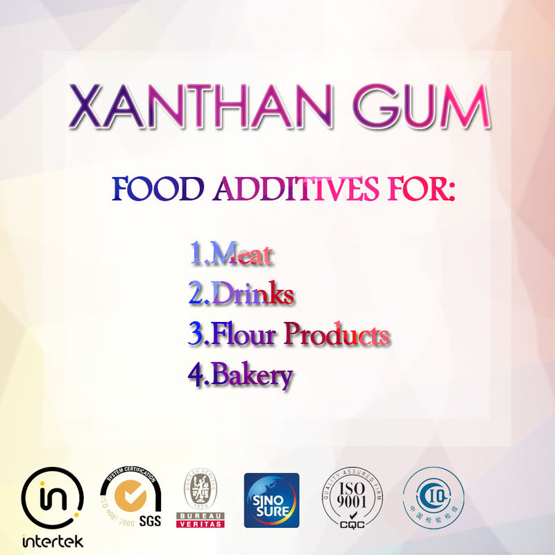 Easy Disolved High Purity Xanthan Gum For Industry