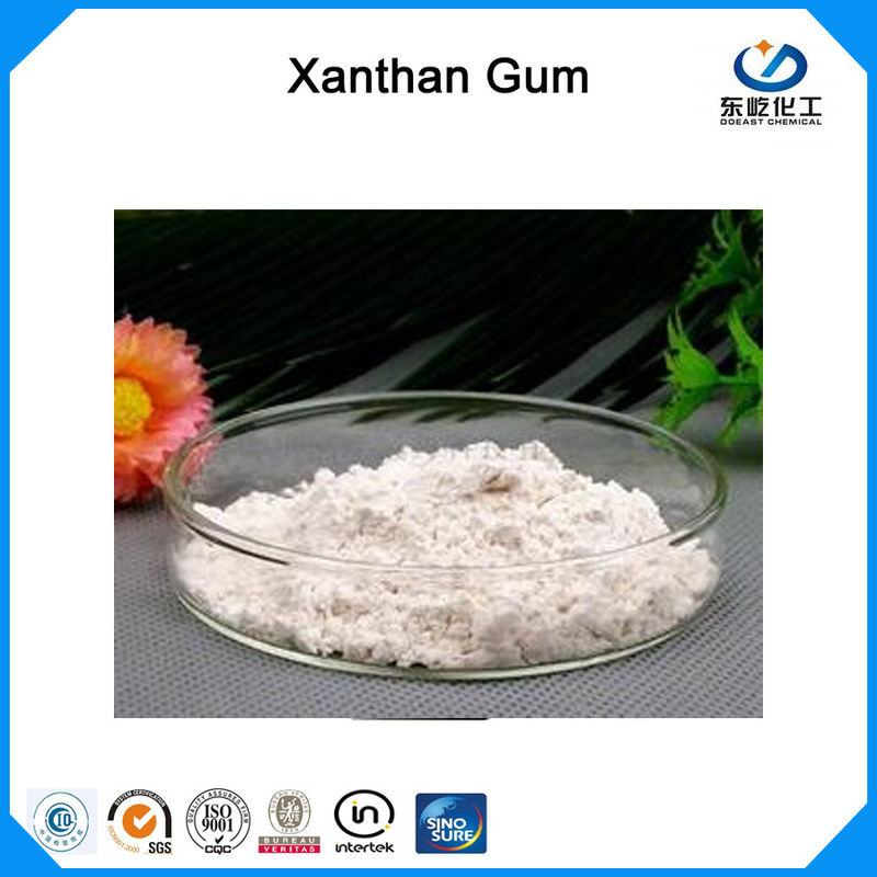 Corn Starch Raw Material Xanthan Gum Stabilizer Food Additives ISO Certification