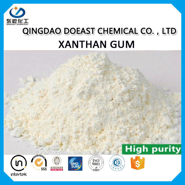 Viscosity 1200 XC / XCD Polymer Xanthan Gum 80 Mesh For Drink Produce